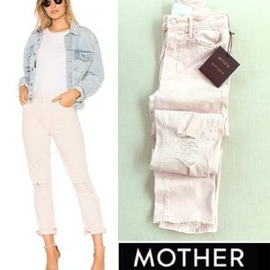 NWT MOTHER SUPERIOR High Waisted Rascal Ankle Jean